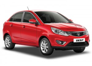 Tata Zest - Red