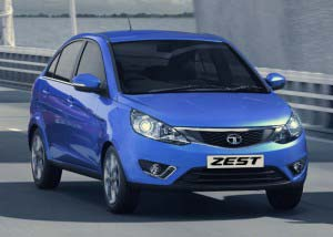 Tata Zest - Front View