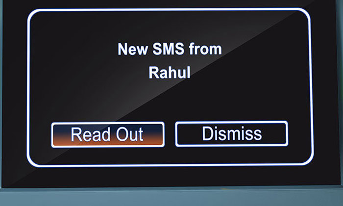 Tata Zest - SMS Notifications and Readouts