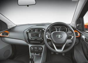 Tata Tiago Dashboard Interior