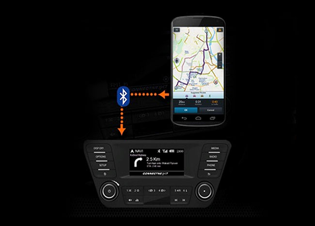 Tata Tiago - Smartphone enabled Navigation App