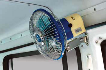 Fan in Passenger Compartment