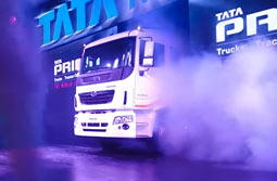 Launch of commercial vehicles range