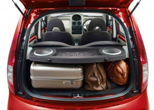 Tata GenX Nano Spacious Backseat
