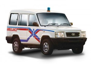 Fully Equipped Tata Sumo Ambulance