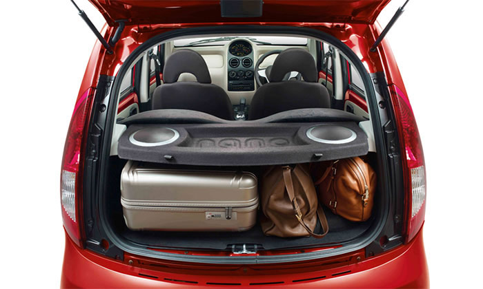 Tata GenX Nano 100L* Luggage Space